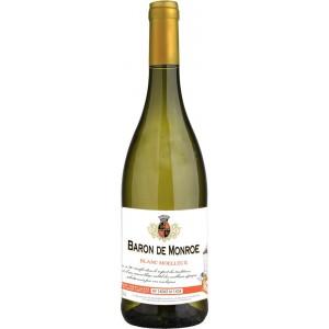 Вино Франции Baron de Monroe Blanc Moelleux / Барон де Монро, бел, п/сл, 0.75 л [3186127800857]