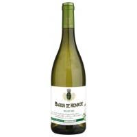Вино Франции Baron de Monroe Blanc Sec / Барон де Монро Блан, Бел, Сух, 0.75 л [3186127838263]