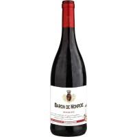 Вино Франции Baron de Monroe Rouge Sec / Барон де Монро Руж Сек, Кр, Сух, 0.75 л [3186127838294]