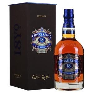 Виски Шотландии Chivas Regal 18 yo / Чивас Ригал 18 ео, 0.7 л (под.уп.) [5000299225004]
