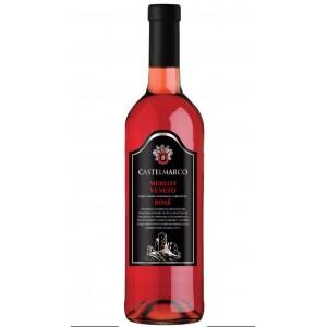 Вино Италии Castelmarco, Veneto Merlot Rosato / Кастельмарко Венето Мерло Розато, Роз, Сух, 0.75 л [8005890800862]