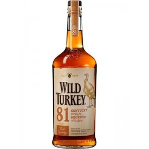 Бурбон США Wild Turkey 81 8 yo / Уайлд Туркей 81 8 ео, 0.7 л [8000040500012]