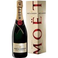 Шампанское Франции Moet & Chandon Brut Imperial / Моет Шандон Брют Империал, 12%, Бел, Брют, 0.75 л (под.уп.) [3185370001233]