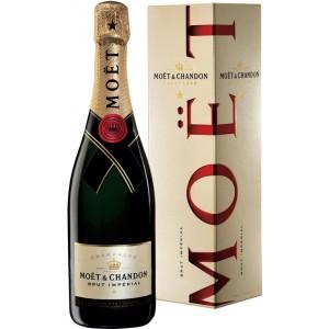 Шампанское Франции Moet & Chandon Brut Imperial / Моет Шандон Брют Империал, Бел, Брют, 0.75 л (под.уп.) [3185370001233]