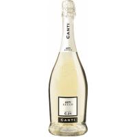 Вино игристое Италии Canti Asti Secco, Бел, Сух, 0.75 л [8005415056194]