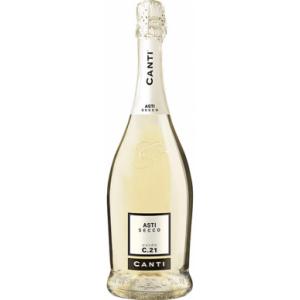 Вино игристое Италии Canti Asti Secco / Канти Атси Секо, Бел, Сух, 0.75 л [8005415056194]