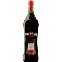 Вермут Италии Martini Rosso (Мартини Россо), Кр, Сл, 15%, 1.0 л [5010677915007]