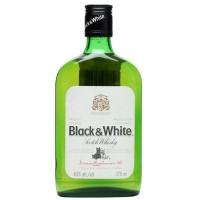 Виски Шотландии Black&White выдержка 3 года 0.375 л 40% [50196166]