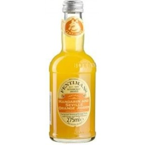 Лимонад Великобритании Fentimans Mandarin & Seville Orange Jigger / Фентиманс Мандарин & Севиль Оранж Джиггер, 0.275 л [5029396322775]