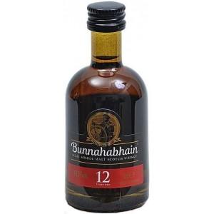 Виски Шотландии Bunnahabhain 12 yo / Буннахавэн 12 ео, 0.05 л [5029704217489]