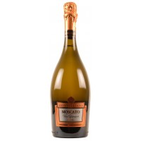 Вино игристое Италии Montelliana Moscato Spumante Cuvee Dolce (Монтеллиана Москато Спумантe Кюве Дольче), Бел, Сл, 6.5%, 0.75 л [8000555000618]