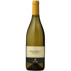 Вино Италии Cesari Pinot Grigio delle Venezie / Чезари Пино Гриджио делле Венецие, Бел, Сух, 0.75 л [8000834305007]