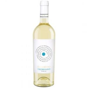 Вино Италии DOMODO Trebbiano Puglia / Домодо Треббьяно Апулия, Бел, Сух, 0.75 л [8023354421910]