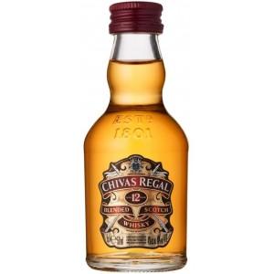 Виски Шотландии Chivas Regal 12 yo / Чивас Ригал 12 ео, 0.05 л 080432400340]