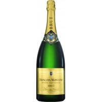 Вино игристое Франции  Francois Montand Brut Blanc de Blancs / Франсуа Монтан Брют Блан де Блан, Бел, Брют, 0.75 л [3263286318000]