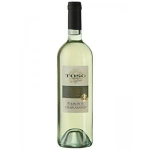 Вино Италии Toso Piemonte Chardonnay / Тосо Пьемонте Шардоне, Бел, Сух, 0.75 л [8002915000870]