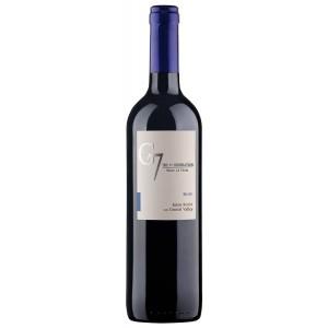 Вино Чили G7 Merlot / Джи 7 Мерло, Кр, Сух, 0.75 л [7804310546257]