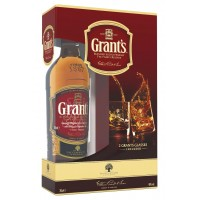 Виски Шотландии Grant's Family Reserve / Вильям Грантс Фэмили Резерв, 0.7 л (+ 2 бокала) [5010327215419]