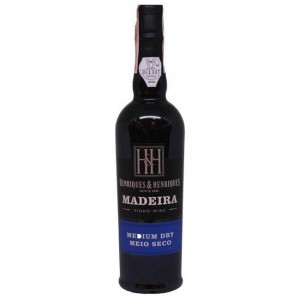 Вино Португалии Henriques & Henriques Medium Dry / Энрикес и Энрикес Медиум Драй, Бел, П/Сух, 0.5 л [5601196017091]