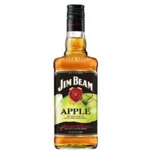 "Виски США Jim Beam Apple 4 yo / Джим Бим"" Эппл 4 ео, 1 л [5060045585295]"