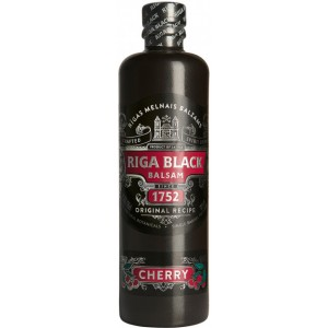 Бальзам Латвии Riga Black Balsam Black / Рижский Черный Бальзам, Вишнёвый, 30%, 0.5 л [4750021004933]
