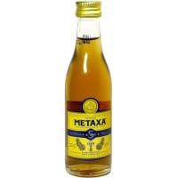 Бренди Греции  Metaxa Honey 5 * / Метакса 5 лет, 38%, 0.05 л [5202795120184]