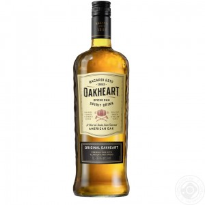 Ром США Bacardi Oakheart Original / Бакарди Окхарт Ориджинал, 35%, 0.7 [5010677740036]