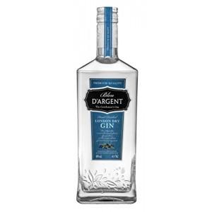 Джин Франции Bleu D'Argent London Dry Gin / Блю д'Аржан Лондон Драй Джин, 0.7 л [3263280110280]