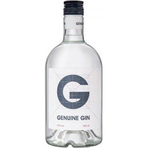 Джин Испании Genuine Gin / Дженьюин Джин, 0.7 л [8411640010113]
