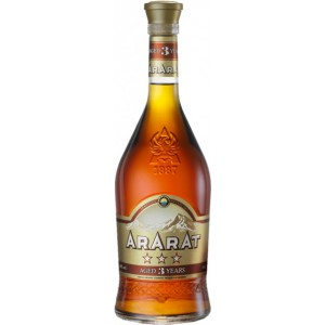 Коньяк АрАрАт 3 года выдержки 0.5 л 40% [4850001001904]