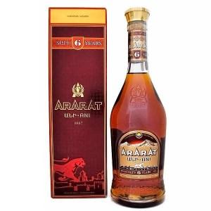 Коньяк Армении Ararat Ani 6 yo / АрАрАт Ани 6 ео, 0.5 л (под.уп.) [4850001001966]