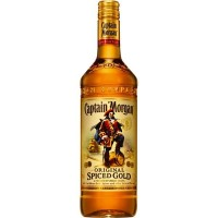 Ром Карибских островов Captain Morgan Spiced Gold 1 л 35% [5000299223055]