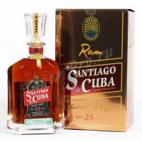 Ром Кубы Santiago de Cuba Extra 25, 40%, 0.7 л [8500000916322]
