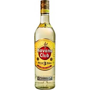 Ром Кубы Havana Club Anejo 3 yo, 40%, 0.7 л [8501110080231]