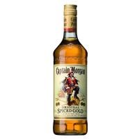 Ром Карибских островов  Captain Morgan Spiced Gold / Капитан Морган Спайсед Голд, 0.7 л (с кружкой) [8680325258274]