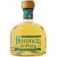 Текила Мексики Herencia De Plata 100% Agava Repoado / Эренсия де Плата 100% Агава Репосадо, 0.7 л [7501054899228]