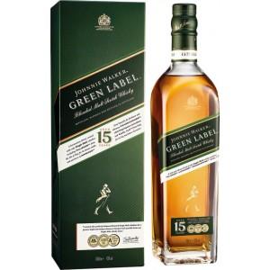 Виски Johnnie Walker Green label 15 лет выдержки 0.7 л 43% [5000267134710]