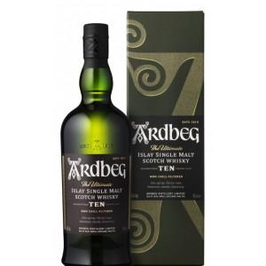 Виски Шотландии  Ardbeg 10 yo / Ардбег 10 лет, 0.7 л [5010494195286]