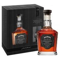 Виски США Джек Дэниэлс / Jack Daniels, Single Barrel, 45%, 0.7 л, в коробке + бокал [5099873210666]