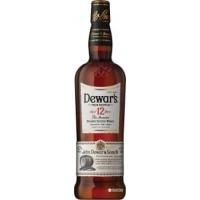 Виски Шотландии  Dewar's 12 yo / Дьюарс 12-летний , 0.7 л (под.уп) [5000277002450]
