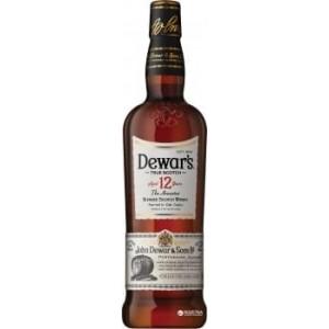 Виски Шотландии Dewar's 12 yo / Дьюарс 12 ео, 0.7 л (под. уп.) [5000277002450]