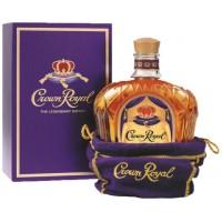 Виски Канады Краун Ройял / Crown Royal, 40%, 0.75л, в коробке [87000007253]