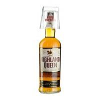 Виски Шотландии  Highland Queen / Хайленд Куин 1 л, с бокалом [3267682136176]
