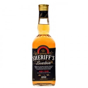 Бурбон Sheriff's Bourbon Whiskey, 40%, 0.7 л [4013227014824]