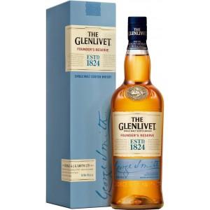 Виски Шотландии Glenlivet Founder's Reserve / Гленливет Фаундерс Резерв, 0.7 л (под.уп.) [5000299609347]