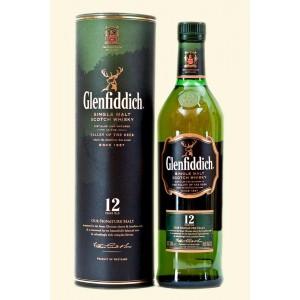 Виски Шотландии Glenfiddich 12 yo / Гленфиддик 12 ео, 0.7 л [5010327000176]