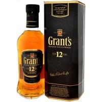 Виски Шотландии Grant's 12 yo / Грантс 12 ео, 0.75 л [5010327115023]