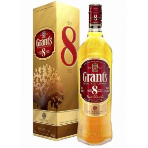 Виски Шотландии Grant's 8 yo / Гранст 8 ео, 0.7 л [5010327215471]