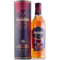 Виски Шотландии Glenfiddich 15 yo / Гленфиддик 15 ео, 0.7 л [5010327325125]