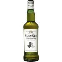 Виски Black&White выдержка 3 года, 40%, 0.7 л [50196135]